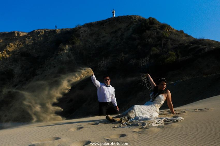 MELANIE + OSWALDO - TRASH THE DRESS